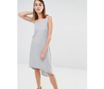 Ana Ärmelloses Jersey-Strandkleid Grau