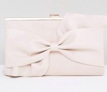 Una Tasche mit Schleifendesign Rosa