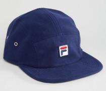 Mütze aus Fleece mit Box-Logo, exklusiv bei ASOS Marineblau