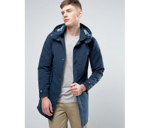 Originals Leichte Parka mit Futter in Military-Optik Marineblau