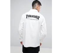 x Thrasher Chore Jacke Weiß