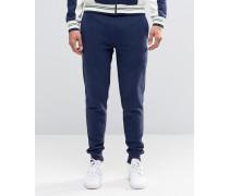 Fila Schmale Vintage-Jogginghose Marineblau