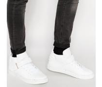 Sashimi Mittelhohe Sneaker Weiß