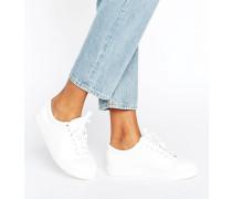 Weiße Sneaker Weiß