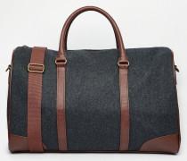 Reisetasche in Anthrazit meliert Grau