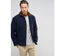 Levi's Deck Mantel mit Fellfutter Blau
