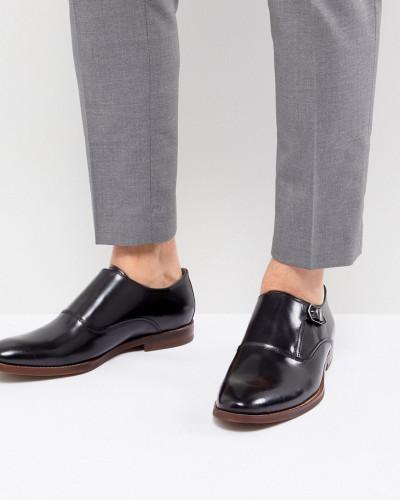 ALDO Herren Catallo - Monk-Schuhe aus Leder in Schwarz