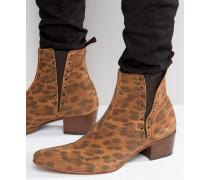 Murphy Chelsea-Stiefel aus Wildleder Bronze