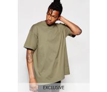 Oversize-T-Shirt Grau