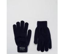 Nicce Handschuhe in Marineblau Marineblau