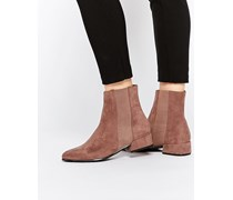 ANGLES Chelsea-Ankle-Boots Rosa