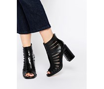 END OF TIME Ankle Boots Schwarz