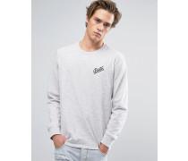 Reggie Langärmliges Shirt mit kleinem Logo Grau