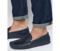 Rotenberg Driving-Loafer Blau