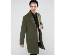 Mantel in Khaki Grün
