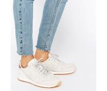 Internationalist Premium Sneaker in Weiß und Gold Weiß