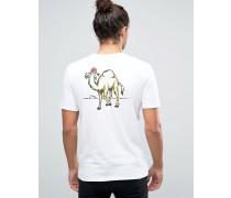 Dune T-Shirt mit Rücken-Print Weiß