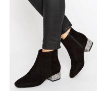 AFIRA Ankle-Boots Schwarz