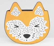Fuchs-Geldbörse Orange