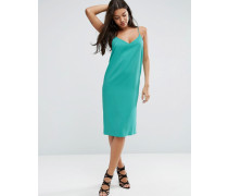 Mittellanges Negligé-Kleid Grün