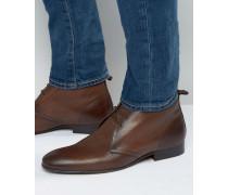 Trader Chukka-Stiefel aus Leder Braun
