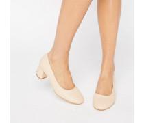 Truffle Glove Schuhe mit mittelhohem Absatz Beige