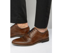 Boycy Derby-Schuhe aus Leder im Budapester Stil Bronze