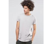 Dime T-Shirt mit Cargo-Taschen Beige