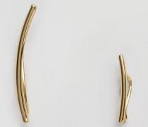 Perula Vergoldete Ohrringe Gold