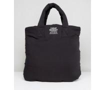 Dicke Shopper-Tasche Schwarz