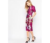 Kleid für besondere Anlässe mit floralem Print Mehrfarbig