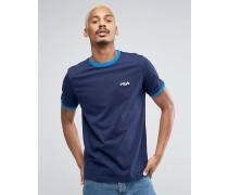 Fila Vintage-T-Shirt mit kleinem Textprint Marineblau