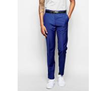 Anzughose in auffälligem Blau Blau