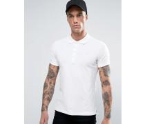 T-HEAL Polohemd Weiß