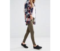 Glow Ausgebleichte Jeans Grün