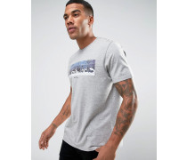 Bedrucktes T-Shirt Grau
