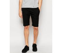 Edle Jersey-Shorts Schwarz
