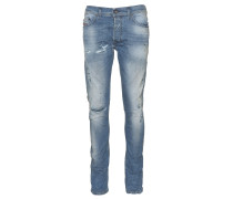Jeans Tepphar im Used-Look