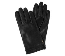 Handschuhe Garuni mit abgestepptem Saum