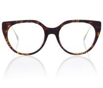 Brille FF mit rundem Gestell aus Acetat