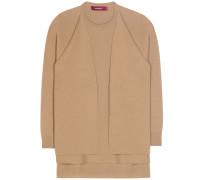 Layering-Pullover aus Schurwolle und Cashmere