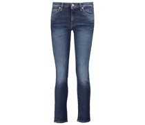 Mid-Rise Cropped Jeans Pyper