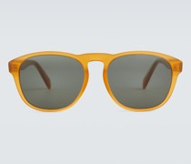 Runde Sonnenbrille aus Acetat