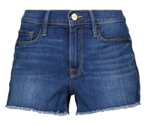 High-Rise Jeansshorts Le Cutoff