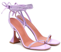 Verzierte Sandalen Vita aus Leder
