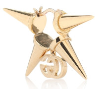 Einzelner Ohrring GG Running aus 18kt Gelbgold
