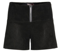 Shorts Jill aus Stretch-Veloursleder