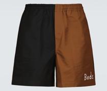 Bedruckte Shorts Bacchus aus Baumwolle