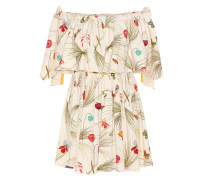 Exklusiv bei mytheresa.com – Off-Shoulder-Kleid aus bedrucktem Crêpe