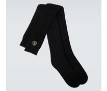 Moncler + Socken aus Wolle